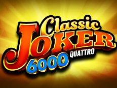 classic joker 6000 quattro